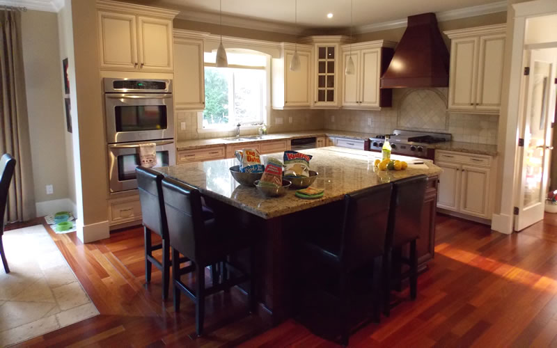 Kitchen Island Vancouver | Royal Spray Finishes Residential Projects Royal Spray Finishes