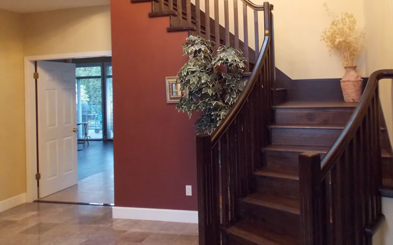 Staircase Refinishing & Staining